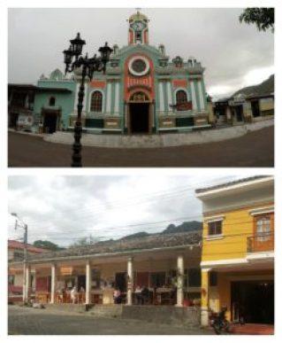 Buildings in Vilcabamba