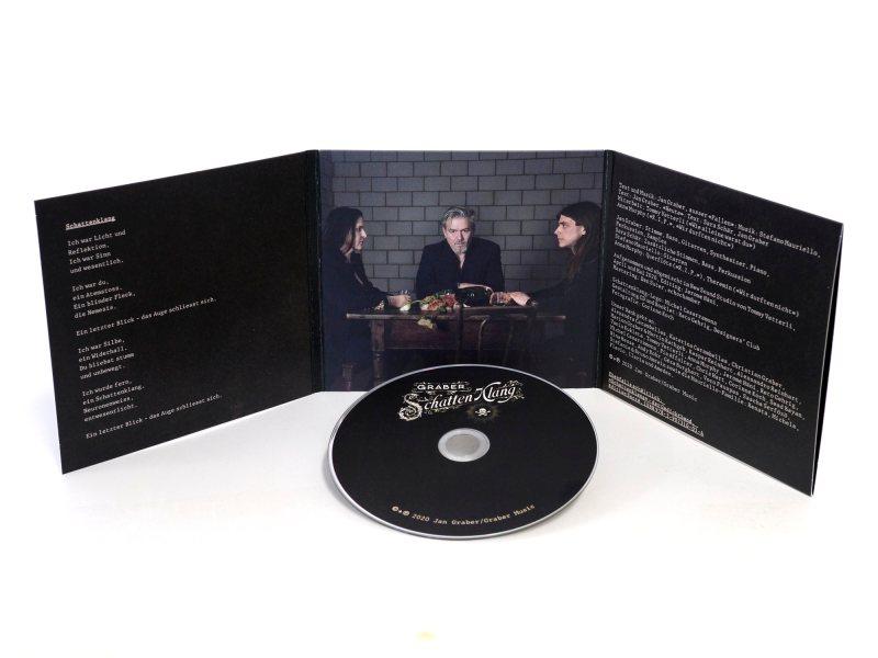 CD «Schattenklang», Innenseite mit CD