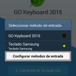 Go Keyboard activar
