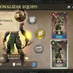 Dungeon Hunter V tutorial personalizar equipo equipa armadura