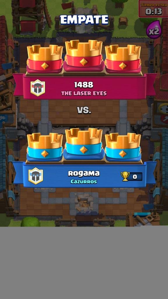 Clash Royale empate