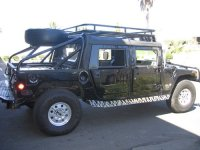 Soft Top Roof Rack System - Hummer H1 accesorio - Hummer ...