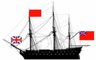 Orden de batalla de la división del vicealmirante Onslow