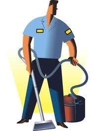 Trabajador de la limpieza
