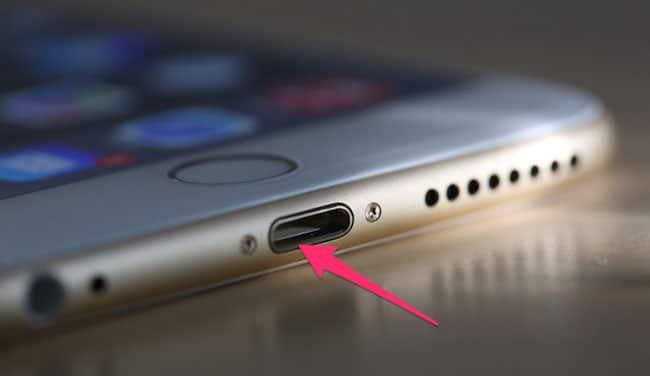 Comprobar conector Lightning iPhone y iPad