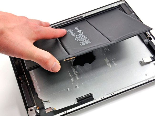 Calibrar batería iPad