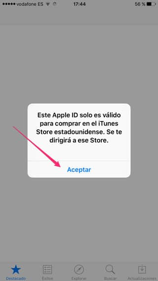 Cambio App Store USA