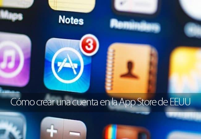 Cómo crear una cuenta en la App Store de EEUU