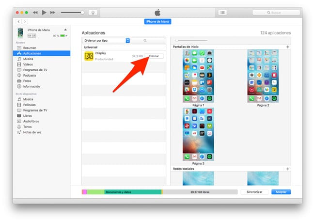 how to delete registered devices from itunes