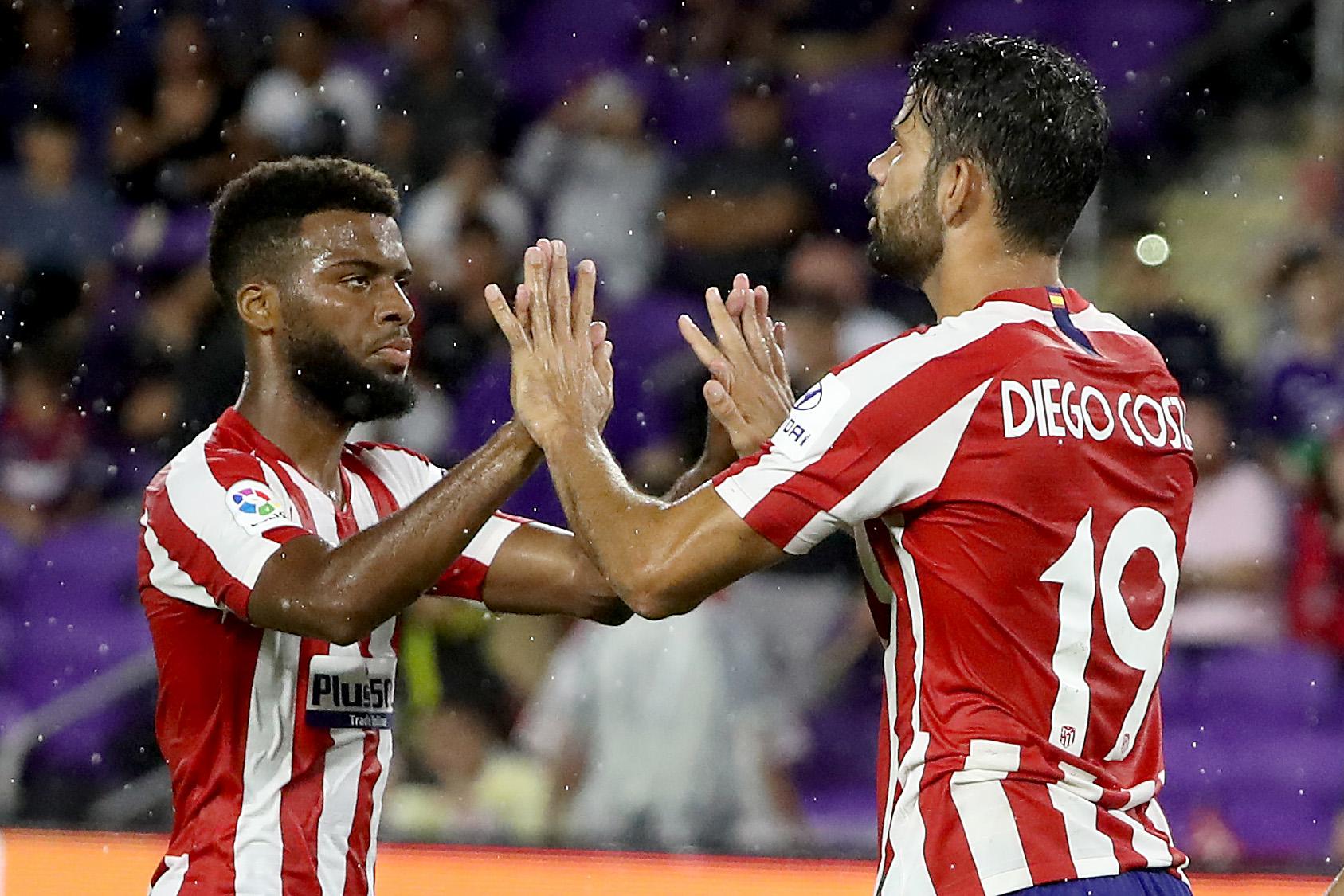 La lista de los 5 mejor pagados del Atlético: Costa y Lemar dentro