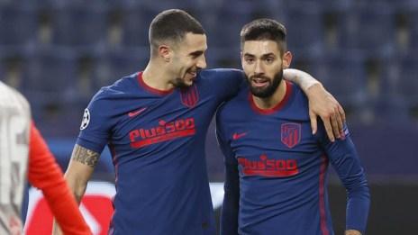 Atleti: Carrasco y Hermoso