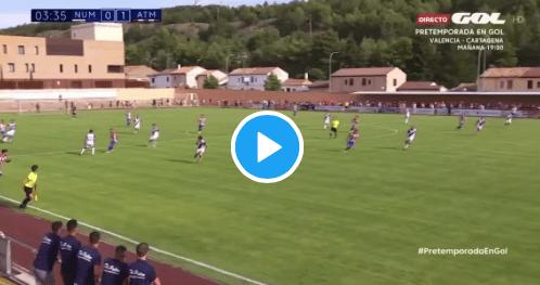 VIDEO: ¡Giuliano Simeone hace la primera asistencia de gol de la temporada!
