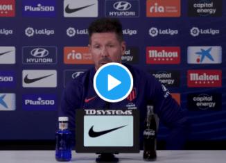 VIDEO: Simeone, sin tapujos, analiza el juego de Griezmann