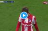 VIDEO: La ovación a Griezmann cuando salió expulsado