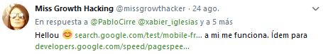 indexar enlaces con google mobile friendly test