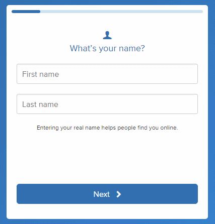 petición de nombre y apellidos