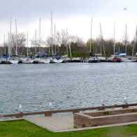 Footbridge, Ashbridges Bay Park