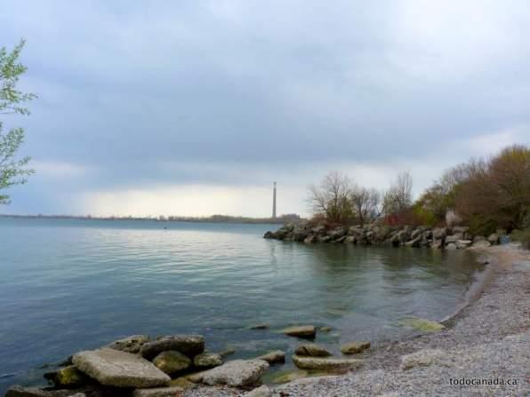 View from Ashbridges Bay Park, Toronto