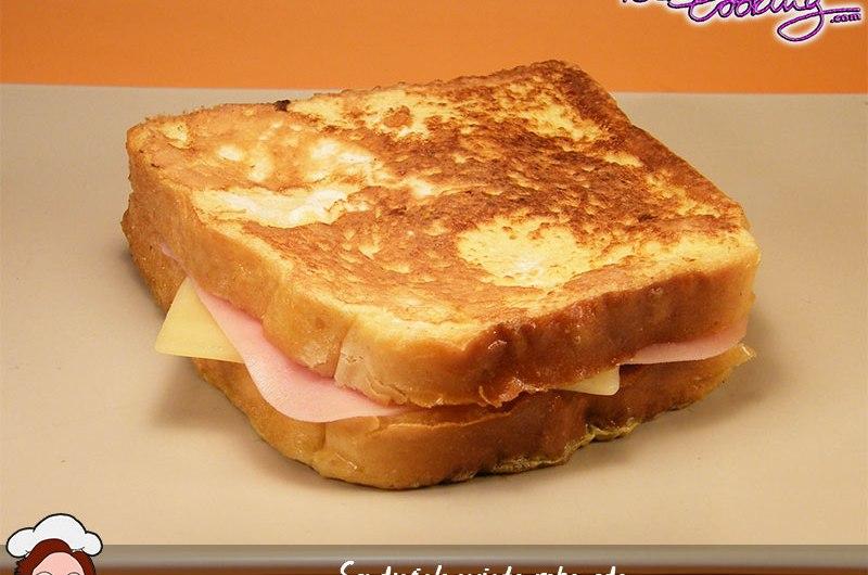 Sandwich mixto rebozado