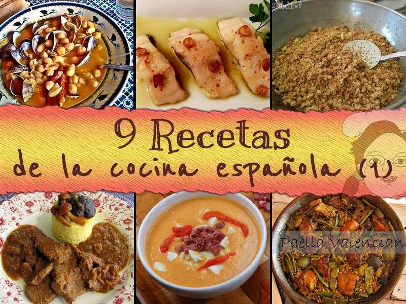 recetas cocina española parte 1
