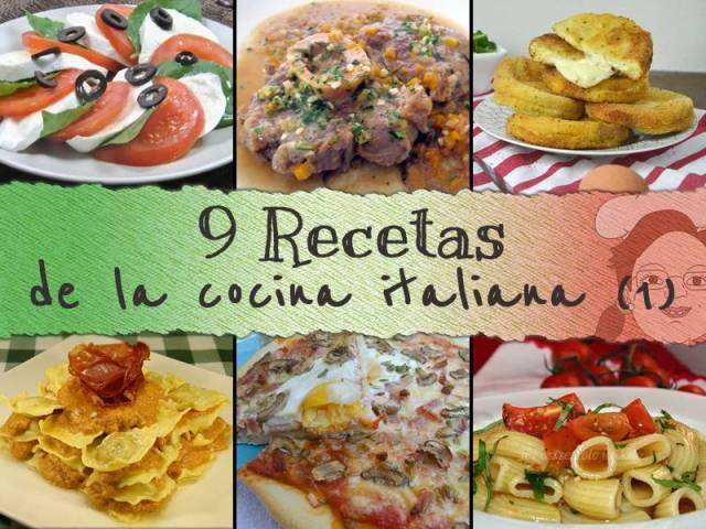 recetas cocina italiana parte 1