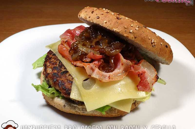 hamburguesa bbq