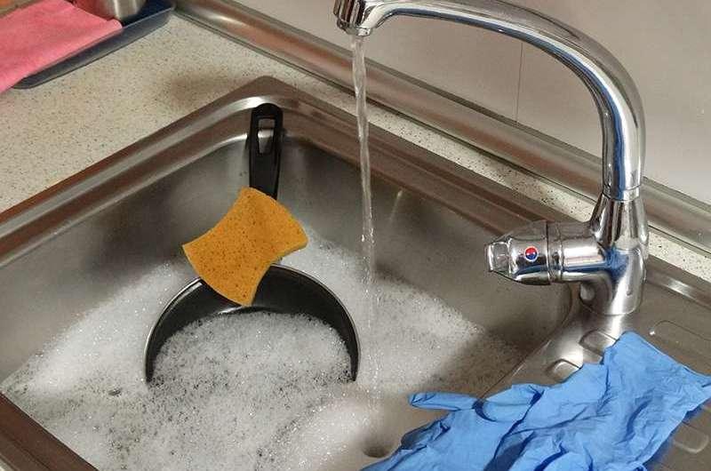 Limpieza de sartenes