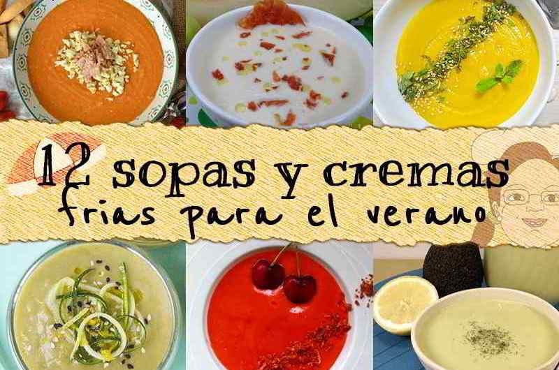 12 Sopas y cremas frías para el verano