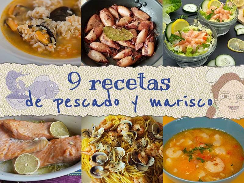 9 recetas pescado y marisco