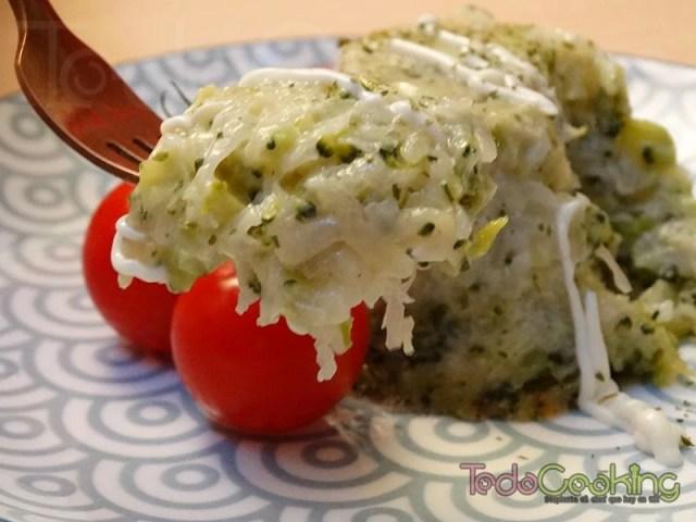Pastelitos de brócoli y patata