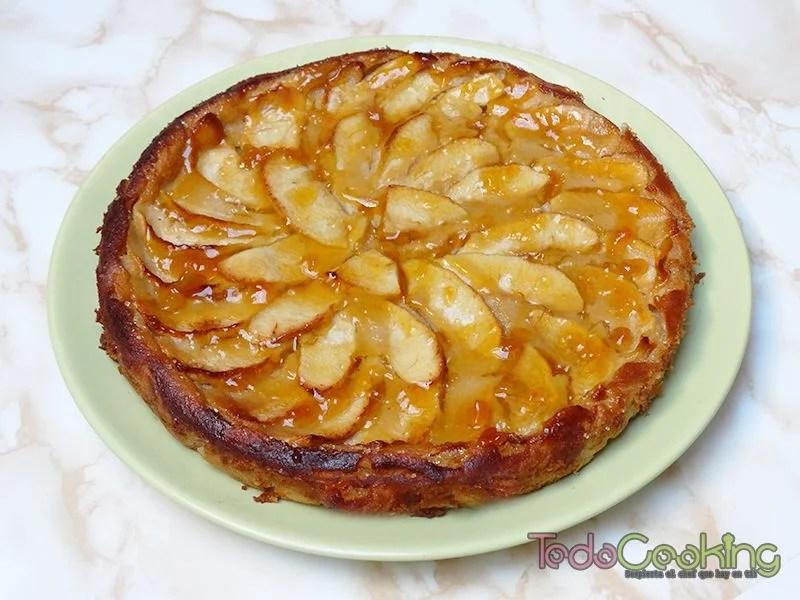 Tarta de manzana y yogur