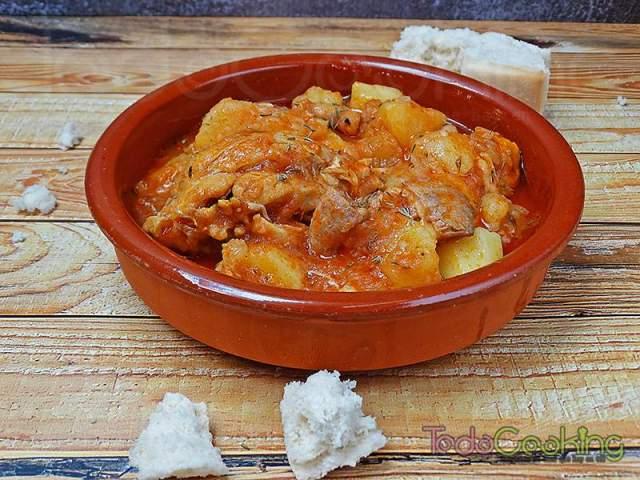Guiso de pollo con patatas 03
