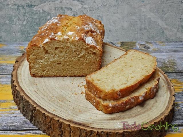 Pan sin amasado con harina común 02