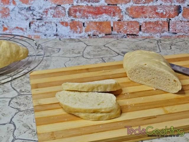 Pan sencillo en el microondas 03