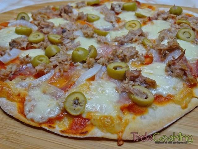 Masa de pizza sin reposo 02