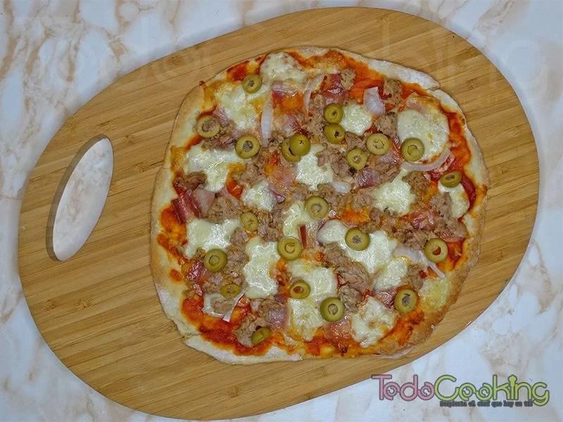 Masa de pizza sin reposo 03