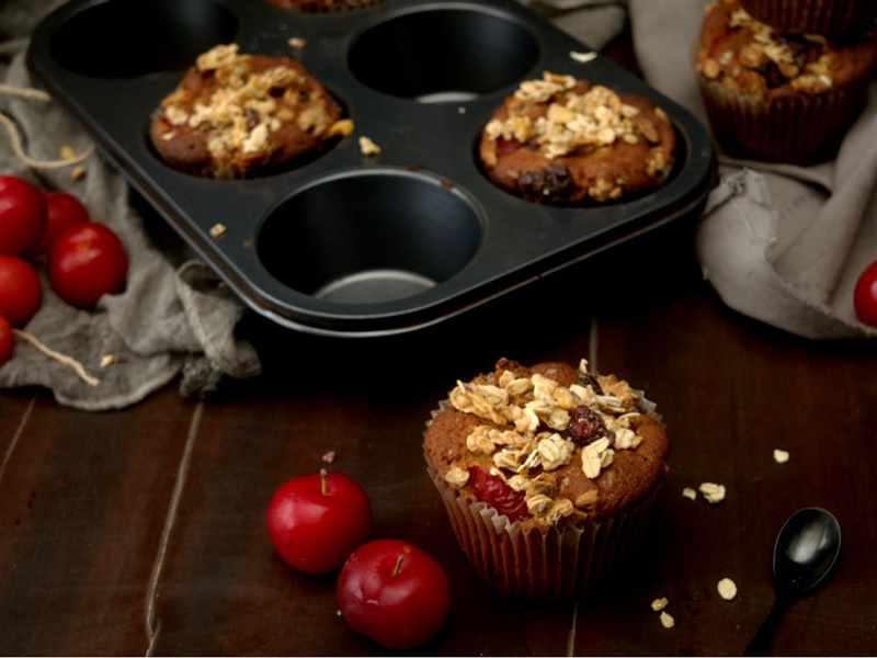 muffins ciruela