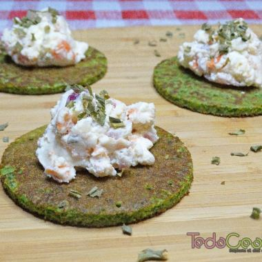 Tortitas de espinacas con Requeixo de As Neves 04