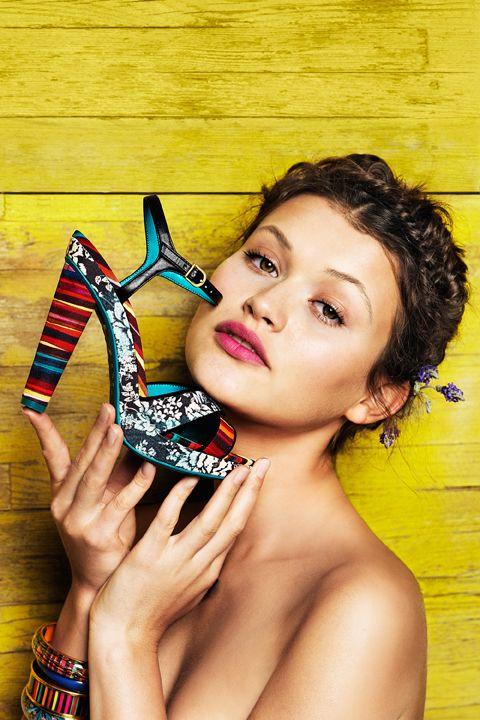 LBSS13 shoes 8 Colección Primavera Verano 2013 de zapatos de Desigual