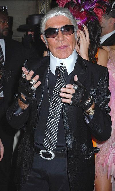 20130408 carnival Roberto Cavalli opina que Karl Lagerfeld es ridículo