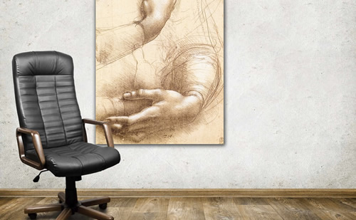 Cuadros para empresas arte al leo para negocios