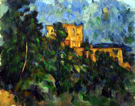 Paul Czanne obras de arte pintor impresionista