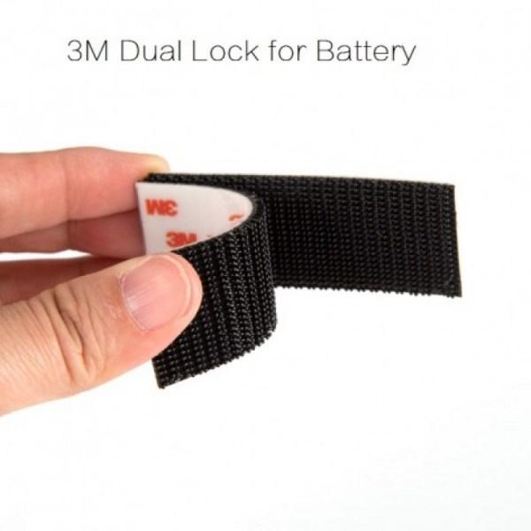 Cinta adhesiva de doble cara y Dual Lock para bateria (626)