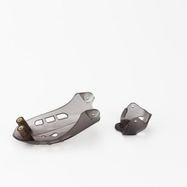 Babyhawk Race Parts - Plastic Pod And Camera Mount - Red Black Transparent (588)(589)(590)