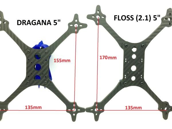 Hyperlite DRAGANA 5 Race Frame (662)