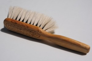 cepillo de cerdas naturales