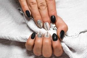 Pegatina para uñas