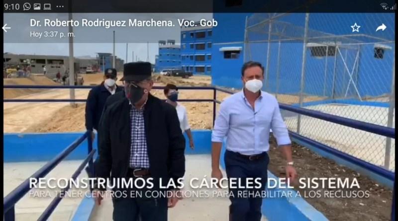 Danilo Medina superviso la construcción en fase terminación de la nueva cárcel La Victoria