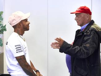 Niki Lauda - Lewis Hamilton