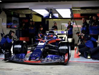Toro Rosso - Barcelona pretemporada -Daniiel Kvyat